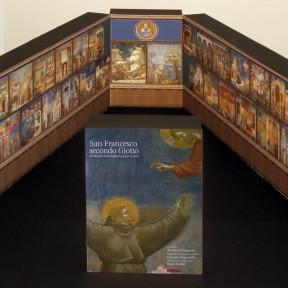 """La riproduzione in miniatura della mostra """"San Francesco secondo Giotto"""""""
