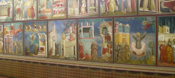 San Francesco parete est