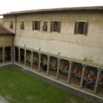 Firenze, ottobre 2009 - la mostra allestita nel Chiostro di Santa Maria Maddalena de' Pazzi
