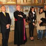 Cotignola (RA), inaugurazione - A sinistra il sindaco Antonio Pezzi e il vescovo di Faenza mons. Claudio Stagni