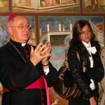 Cotignola (RA), inaugurazione - Il vescovo di Faenza, mons. Claudio Stagni