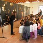 Bareggio: i bambini di un asilo di Vermezzo in visita
