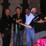 Marco Poeta con Fausto Cigliano, Enzo Gragnaniello e Francesco Di Giacomo