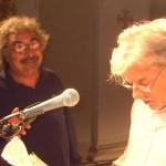 con Giancarlo Giannini