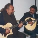 con Eugenio Finardi