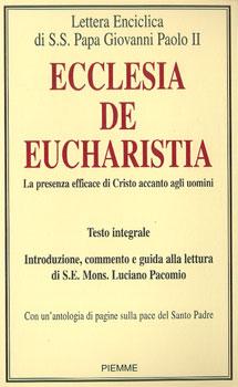 Ecclesia de Eucharistia - Clicca per visualizzare la scheda dettagliata del libro