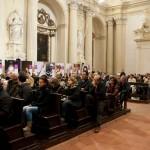 Imola - Il pubblico durante la presentazione della mostra