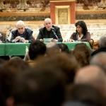 Imola, presentazione - L'intervento di Bellandi, curatore della mostra