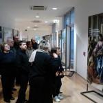 Olbia, Museo Archeologico - Gli amici di Valledoria e Padru in visita alla mostra