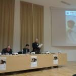 Olbia, Museo Archeologico, presentazione - L'intervento del vescovo Mons. Sebastiano Sanguinetti
