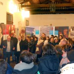 Sarzano di Rovigo - La visita guidata del curatore Eugenio Dal Pane in occasione della presentazione della mostra