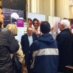 Imola, inaugurazione - Eugenio Dal Pane spiega la mostra