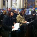 Imola - L'inaugurazione della mostra nella chiesa di Sant'Agostino