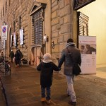 Firenze - L'ingresso della Galleria delle Carrozze