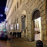 Firenze - Uno scorcio del Palazzo Medici Riccardi che ospita la mostra