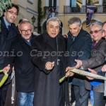 Benevento, inaugurazione - Il taglio del nastro