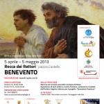 Benevento - Il poster della mostra e del Festival della fede