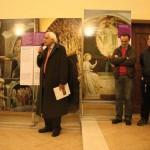 Biassono (MB), inaugurazione - Sandro Chierici introduce il percorso della mostra