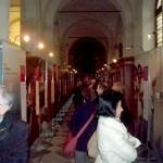 Sesto San Giovanni (MI) - L'allestimento nella Chiesa dell'Assunta