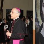 Meana Sardo (NU) - Il saluto di S.E. Mons. Ignazio Sanna, arcivescovo di Oristano, all'inaugurazione della mostra