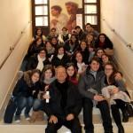 Taranto - Foto di gruppo al termine della visita