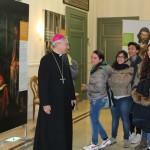 Taranto - Mons. Filippo Santoro in visita alla mostra