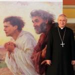 Taranto - Mons. Filippo Santoro coi discepoli Pietro e Giovanni...