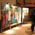 Forlì - Il suggestivo allestimento in San Mercuriale