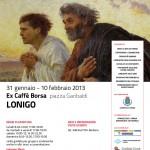 Lonigo (VI) - Mons. Beniamino Pizziol, Vescovo di Vicenza, visita la mostra