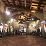 Borgosotto di Montichiari (BS) - Uno scorcio dell'allestimento all'interno del Palazzo Monti