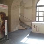 Siracusa - L'ingresso della mostra