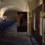 Siracusa - Una suggestiva panoramica della mostra allestita nella sala del Palazzo Arcivescovile