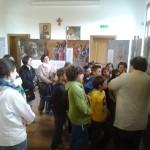 Sarzano (RO) - Le visite dei bambini