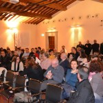 Firenze, Sala Brunelleschi - Il pubblico intervenuto alla presentazione della mostra