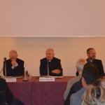 Firenze, Sala Brunelleschi, presentazione - Da sinistra: S.Em. Card. Silvano Piovanelli, don Andrea Bellandi, don Giovanni Paccosi