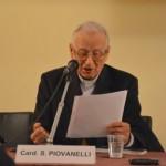 Firenze, Sala Brunelleschi, presentazione - S.Em. Card. Silvano Piovanelli, Arcivescovo Emerito di Firenze