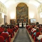 Salerno - L'incontro di presentazione nel Salone degli Stemmi del Palazzo Arcivescovile