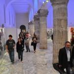 Salerno - L'allestimento nel Tempio di Pomona del Palazzo Arcivescovile