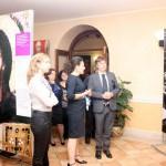 Frosinone, inaugurazione - La visita di Angelo Gianni del Gruppo bancario Credito Valtellinese