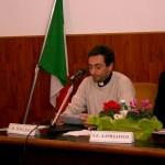 Frosinone, presentazione - L'intervento di don Mario Follega, parroco di Sant'Antonio