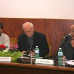 Frosinone, presentazione - L'intervento di Mons. Luigi Di Massa, parroco del Sacro Cuore