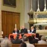 Livorno, presentazione - L'intervento del vescovo, Mons. Simone Giusti