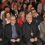 Ragusa - Il pubblico dell'incontro d'inaugurazione. In priima fila Mons. Paolo Urso, Vescovo di Ragusa
