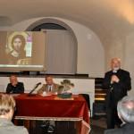 Ragusa, inaugurazione - Il saluto del vescovo, Mons. Paolo Urso