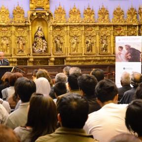 """Lima (Perù) - Immagini dell'inaugurazione della mostra """"Vieron y creyeron"""" allestita nel Convento de San Francisco"""