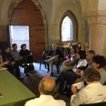 Bolzano - La conferenza stampa con la presentazione della guida della mostra nell'edizione tedesca