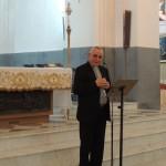 Centuripe (EN), inaugurazione - Mons. Salvatore Muratore, vescovo di Nicosia