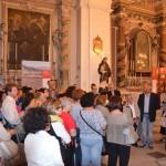 Centuripe (EN), inaugurazione - La prima visita guidata