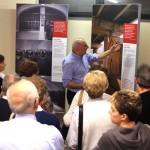 Samarate (VA), inaugurazione - La prima visita guidata con Tiziano Trevisan