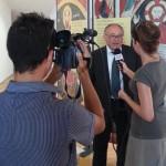 Olbia - Eugenio Dal Pane intervistato al termine della conferenza stampa
